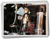 A Type 276 AMAL Carburetter fitted to a 1930's Rudge Special Motorcycle